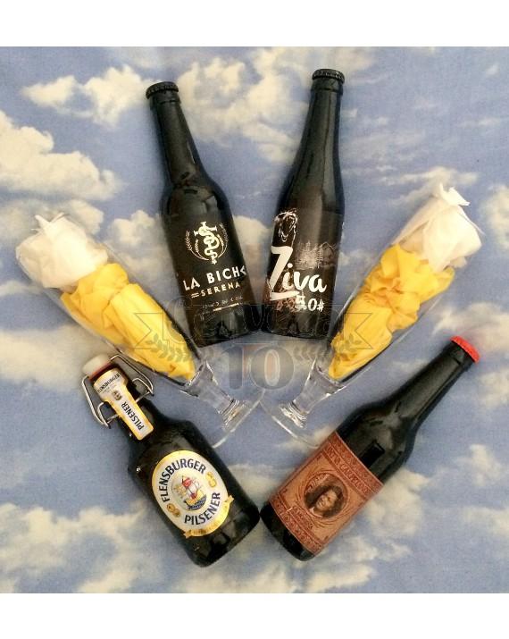 Cervezas artesanas e importación de cata para deleite.