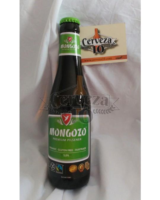 "Cerveza Mongozo Premium Pilsener ""Sin Gluten"""