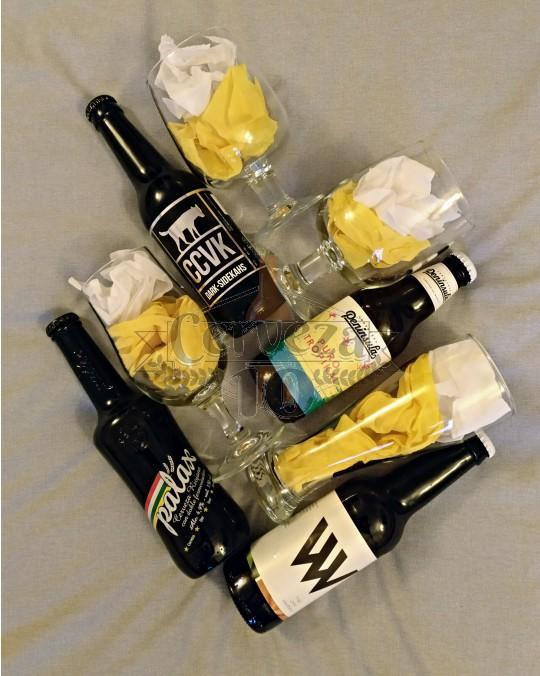 Cervezas artesanas iniciación para deleite.