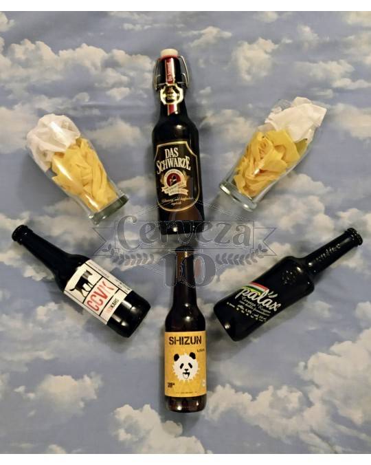 Cervezas artesanas e importación iniciación para deleite.