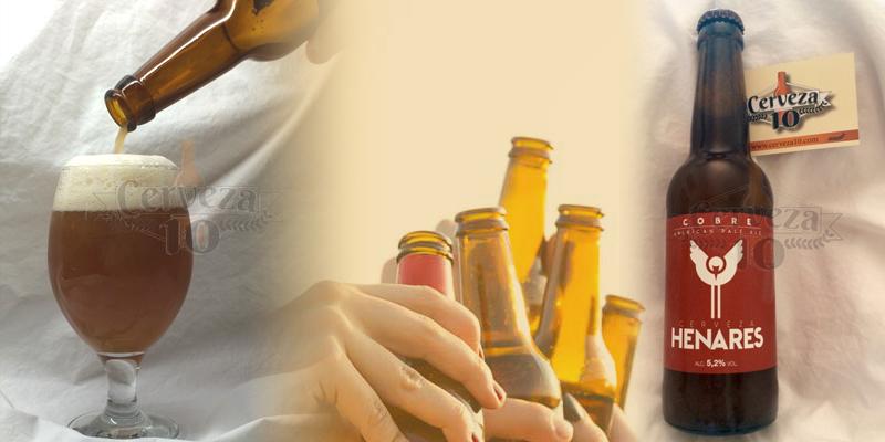 Cerveza Artesana Henares Cobre