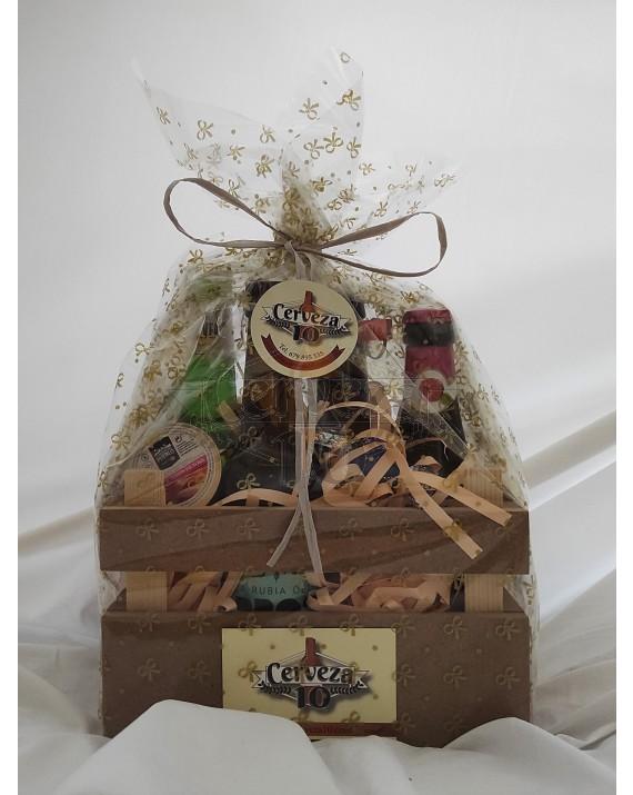 Cervezas artesanas e importación 2 + 2 en cesta