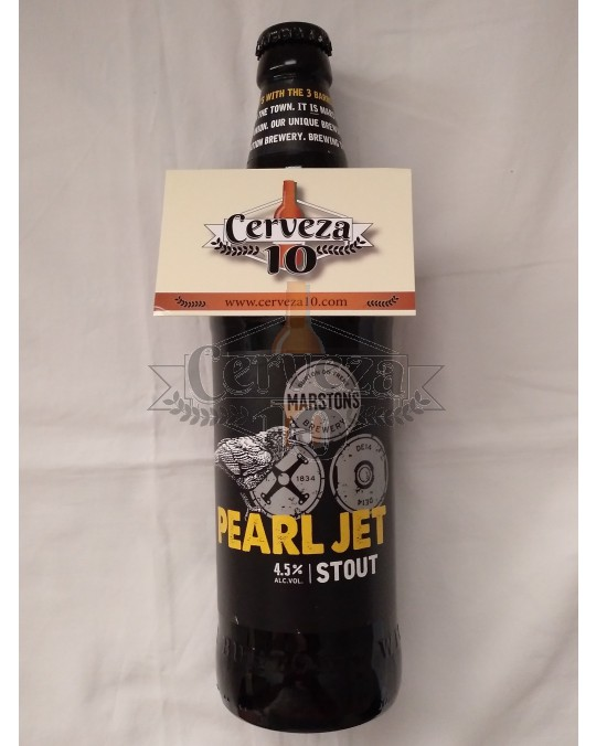 Cerveza Marston Pearl Jet Stout