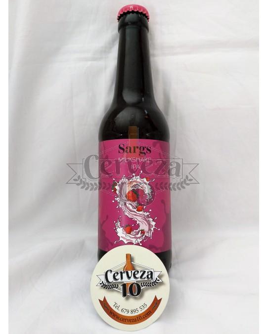 Cerveza Sargs Milkshake Ipa